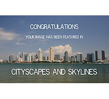 CITYSCAPES AND SKYLINES BANNER Photographic Print