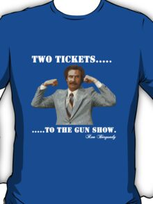 "Anchorman - Ron Bergundy ""Gun Show"" T-Shirt"