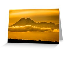 The Floating Mountain Greeting Card