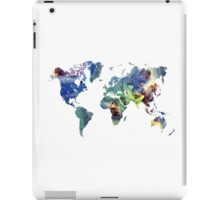 World map cosmos iPad Case/Skin