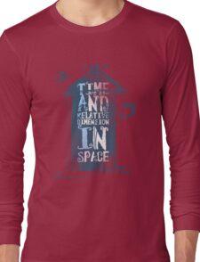 My Little Tardis Long Sleeve T-Shirt