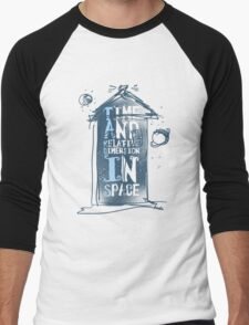 My Little Tardis Men's Baseball ¾ T-Shirt