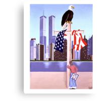 September 11th 2001- (God is our refuge: pslam 121) Canvas Print