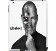 Steve Jobs Terminator I'll be back iPad Case/Skin