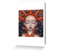 Coral Dream Greeting Card