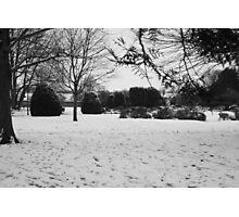 Snowey Landsacpe Photographic Print