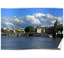View from the Seine Poster