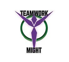 Teamwork Might Photographic Print