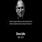 Steve Jobs R.I.P by worldart