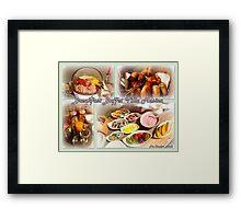 Breakfast Buffet Villa Musica Framed Print