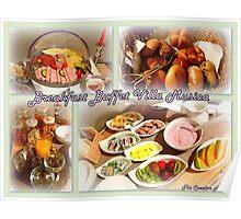 Breakfast Buffet Villa Musica Poster