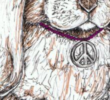 Peace Bunny Sticker