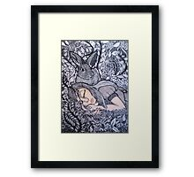 It Happened In The Meadow Framed Print