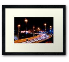 Lincoln Night Framed Print