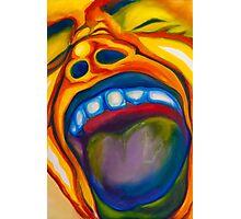 Screaming Man Photographic Print