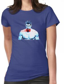 Michael Phelps 2 - Pride of the USA Womens Fitted T-Shirt