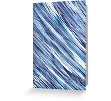 FEATHERY BLUES Greeting Card