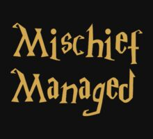 Mischief Managed Shirt by Alex Russo