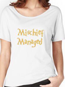 Mischief Managed Shirt Women's Relaxed Fit T-Shirt