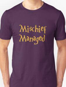 Mischief Managed Shirt Unisex T-Shirt