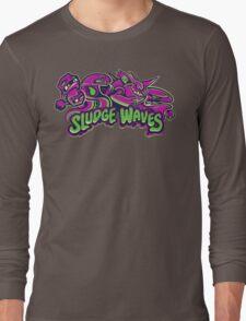 Poison Types - Sludge Waves Long Sleeve T-Shirt