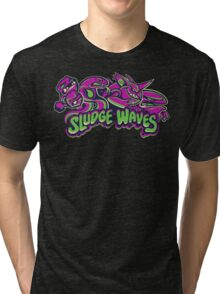 Poison Types - Sludge Waves Tri-blend T-Shirt
