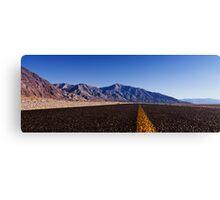 Death Valley Road.  Canvas Print
