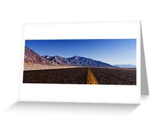 Death Valley Road.  Greeting Card