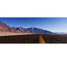Death Valley Road.  Photographic Print