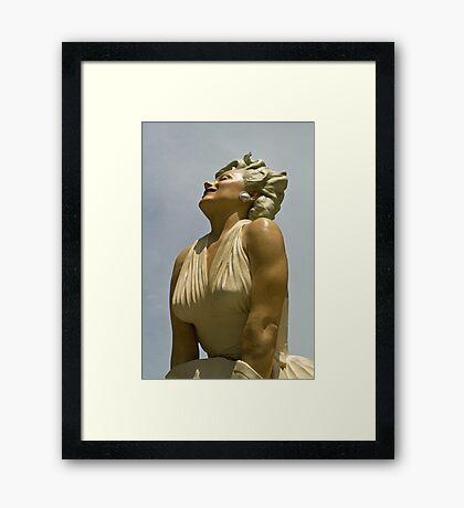 Forever Marilyn Framed Print