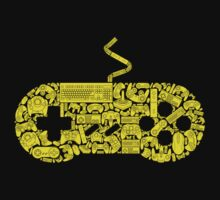 Gamer (yellow edition) by bomdesignz