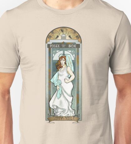 Donna Noble ArtNerdveau Unisex T-Shirt