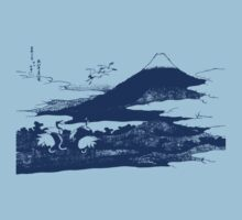 Blue Mount Fuji by Archpress