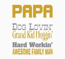 Call Me Papa Design Kids Tee