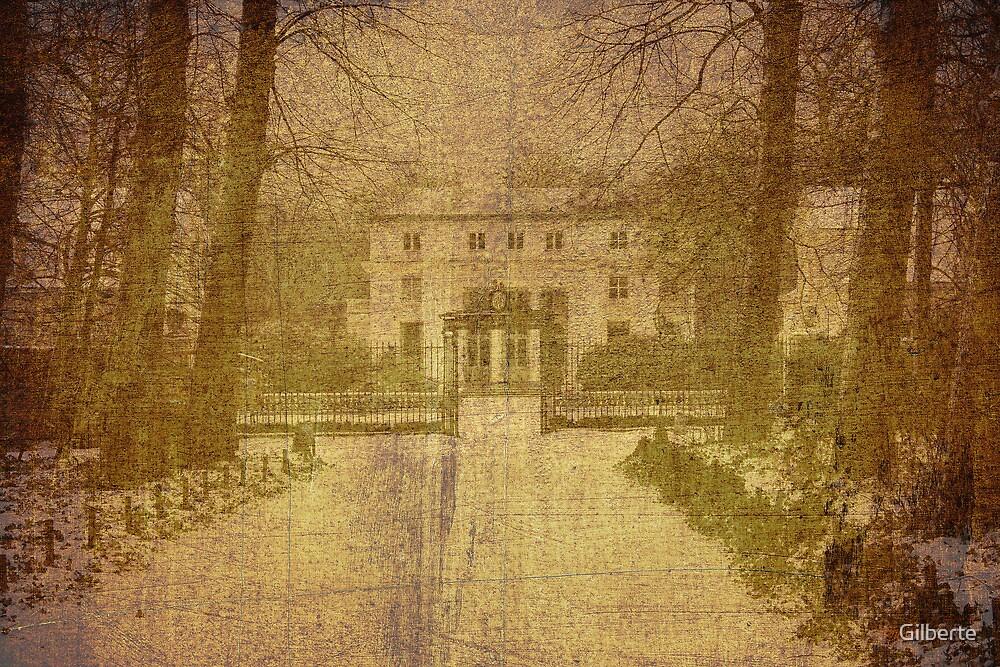 Old Card - Hof Ter Linden by Gilberte