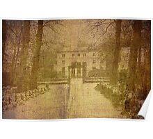 Old Card - Hof Ter Linden Poster