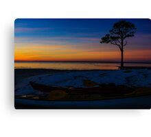 St. George Sunset Canvas Print