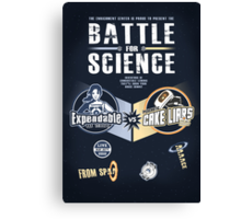 Battle for Science - V2 Canvas Print