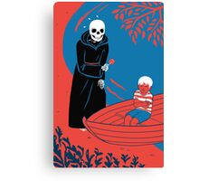 On the Shore of the River of Death Canvas Print