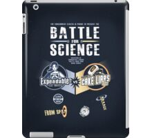 Battle for Science - V2 iPad Case/Skin
