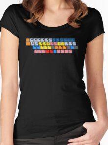 Avid Keyboard Women's Fitted Scoop T-Shirt