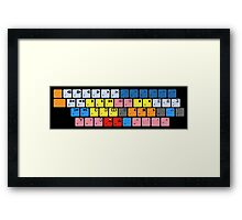 Avid Keyboard Framed Print