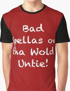 Bad Spellas Back in Black Graphic T-Shirt
