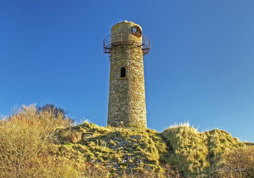 The Old Lighthouse,Hodbarrow by Jamie  Green