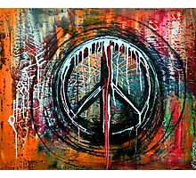 Peace Bomb Photographic Print