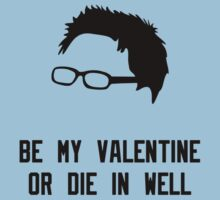 Be my valentine or die in a well by SallyDiamonds