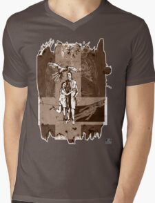 Lady of the dead (sepia) Mens V-Neck T-Shirt