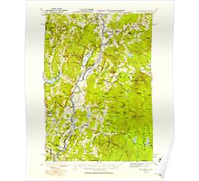 USGS TOPO Map New Hampshire NH Mt Cube 330216 1931 62500 Poster