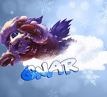 Snow Day Gnar League of Legends by LexyLady