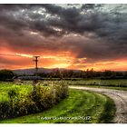 weird countryside hdr by martbarras